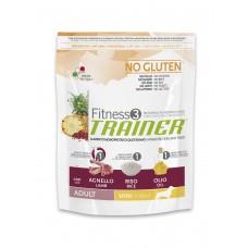 Корм Trainer Fitness3 Super Premium Adult Mini With Lamb - Rice — Oil (Трейнер Фітнес3 Супер Преміум Едалт Міні з Ягнятиною, Рисом та Олією) 7,5кг