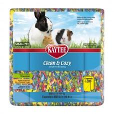 Подстилка Kaytee Clean&Cozy BirthdayCake для грызунов, целлюлоза, разноцветная 4.1 л