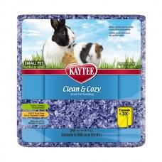 Подстилка Kaytee Clean&Cozy Purple для грызунов, целлюлоза 4.1 л