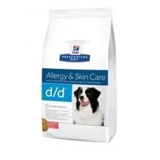 Hill's Prescription Diet™ Canine d/d™ Лосось и Рис 12kg