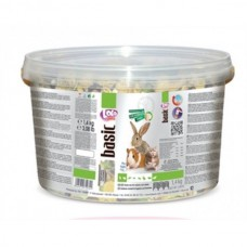 Екзотичний коктейль Lolopets  для гризунів і кролика відро 3 л 1.4 кг.