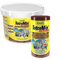 Корм Tetra Min XL Flakes для аквариумных рыб в хлопьях  1L