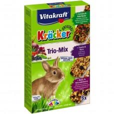 Крекер для кроликів Vitakraft Kracker Trio-Mix з овочами, горіхами и лісовими ягодами 3 шт.