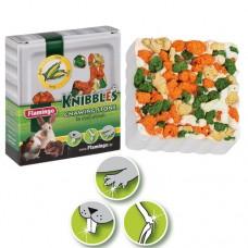 Мел Flamingo Knibbles Corn Croquettes для грызунов с кукурузой, для гигиены зубов, 75г