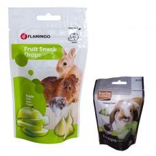 Лакомство Flamingo DROPS APPLE для грызунов дропсы с яблоком 0,75 кг