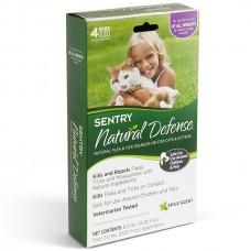 Sentry Natural Defense СЕНТРИ НАТУРАЛЬНАЯ ЗАЩИТА капли от блох и клещей для кошек и котят всех пород , 0.02 л.