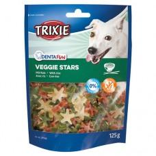 Лакомство для собак Trixie Denta Fun Veggie Stars с рисом 125г