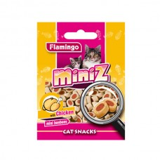 Лакомство Flamingo Miniz Bonbons роллы для кошек