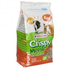 Корм Versele-Laga Crispy Muesli Guinea Pigs для морських свинок, з вітаміном C , 1 кг.