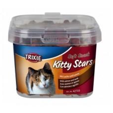 """Витаминное лакомство для кошек Trixie """"Kitty Stars"""" ведро пластик 140гр"""