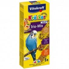 Крекер Vitakraft  для хвилястих папуг мед-яйце-фрукти 3 шт.
