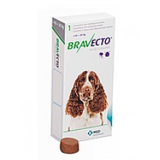 Bravecto БРАВЕКТО таблетка от блох и клещей для собак 10-20кг