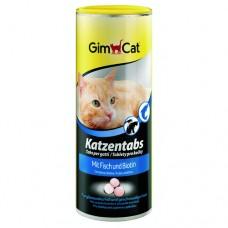 Витаминно–минеральные таблетки Gimborn со вкусом рыбы, дрожжами и молочными продуктами 710 шт./425г.