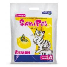 Наполнитель SANI PET для котов  5кг ЛИМОН