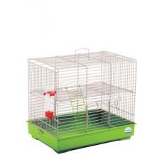 """Клетка для грызунов """"Микки с лесенкой"""" Природа (37*25*30) см"""