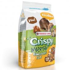 Корм Versele-Laga Crispy Muesli Hamsteдля хомяків, крис, мишей, пісчанок , 1 кг.