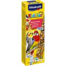 Крекер Vitakraft Kracker для австралійських великих папуг з фруктами 2 шт.