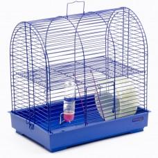 """Клетка для грызунов """"Рокки с колесом"""" Природа (37*25*36) см"""