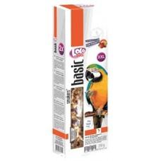 Лакомства LoLo PETS колосок фруктово-горіховий, для великих папуг 250 г.